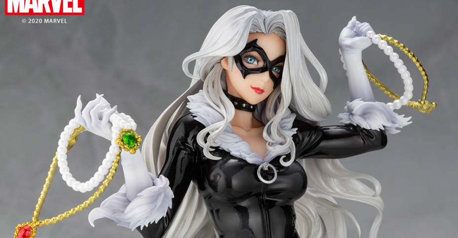 Black Cat Bishoujo Statue 002