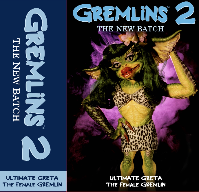 Gremlins 2 Greta Packaging Preview
