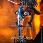 Hot Toys CW Anakin and STAP 001
