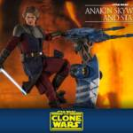 Hot Toys CW Anakin and STAP 013