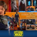 Hot Toys CW Anakin and STAP 018