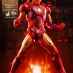 Hot Toys Iron Man 2 Holographic Iron Man 002