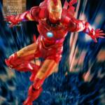 Hot Toys Iron Man 2 Holographic Iron Man 006