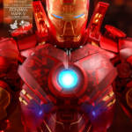 Hot Toys Iron Man 2 Holographic Iron Man 015