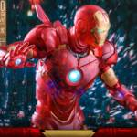 Hot Toys Iron Man 2 Holographic Iron Man 017