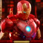 Hot Toys Iron Man 2 Holographic Iron Man 019