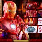 Hot Toys Iron Man 2 Holographic Iron Man 020