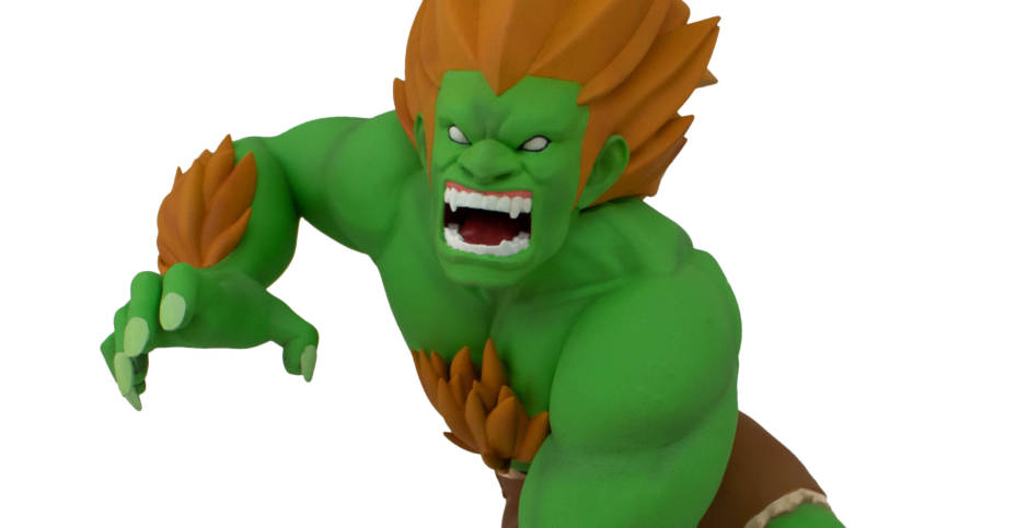 Street Fighter Blanka Unleashed Designer Figure By Icon Heroes