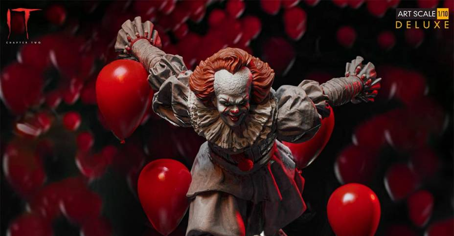 Iron Studios IT 2 Pennywise 001