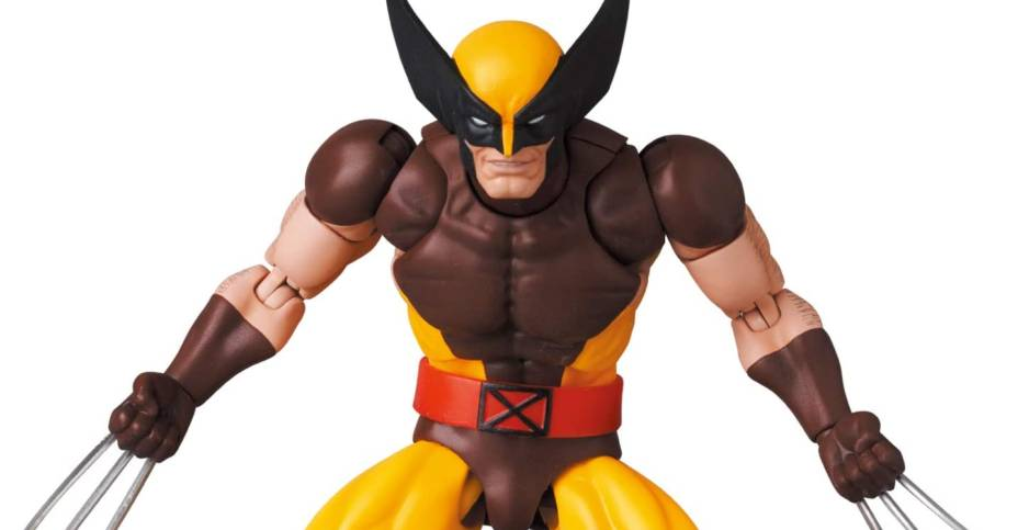 MAFEX Wolverine Brown Costume 014