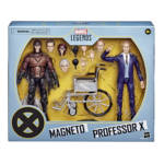 MARVEL LEGENDS SERIES X MEN 20TH ANNIVERSARY 6 INCH MAGNETO AND PROFESSOR X Figure 2 Pack in pck 2