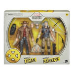 MARVEL LEGENDS SERIES X MEN 6 INCH MARVEL'S HAWKEYE AND MARVEL'S LOGAN Figure 2 Pack in pck