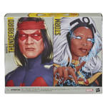 MARVEL LEGENDS SERIES X MEN 6 INCH STORM AND MARVEL'S THUNDERBIRD Figure 2 Pack pckging