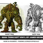 Marvel Man Thing Soft Vinyl Preview
