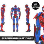 Marvel Mecha Spider Man Sixth Scale Figure Preview