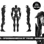 Marvel Mecha Spider Man Symbiote Sixth Scale Figure Preview