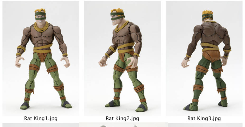 NECA Rat King Preview