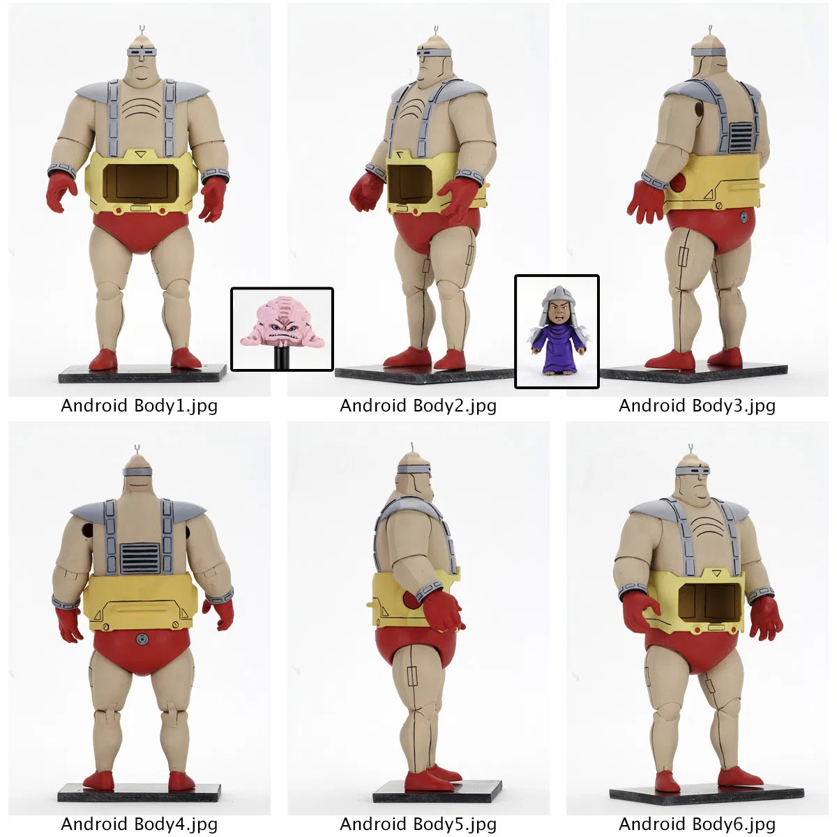NECA TMNT Krang Android Preview