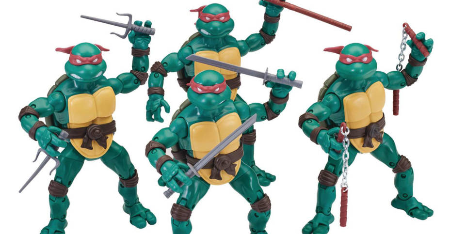 Playmates TMNT Comic Elite Series 001