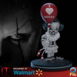 QMx Pennywise Limited Edition BW Q Fig