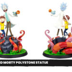Rick and Morty Polystone Statue Preview