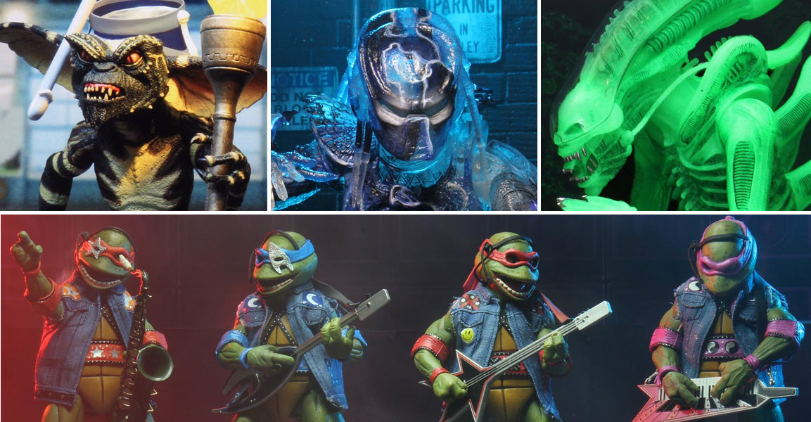 SDCC 2020 NECA Exclusives