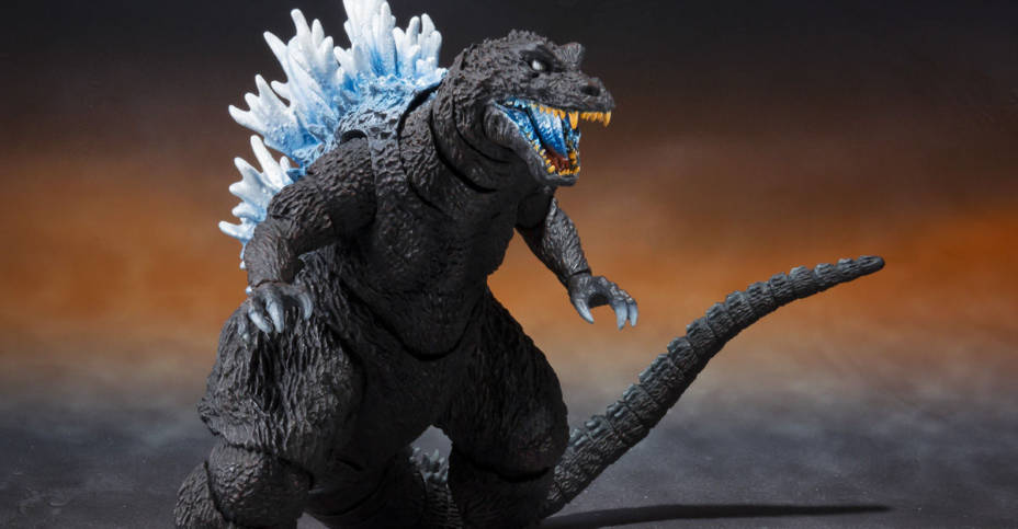 SH MonsterArts Godzilla 2001 Heat Ray 003