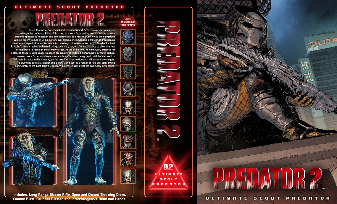 Scout Predator Packaging Preview