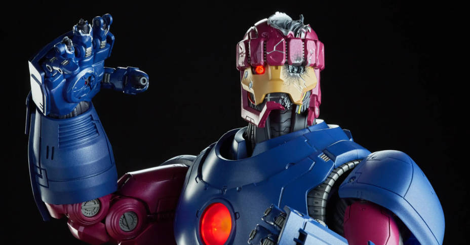 Sentinel Damaged Head Sculpt and Hand