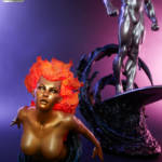 Sideshow Silver Surfer Statue 025