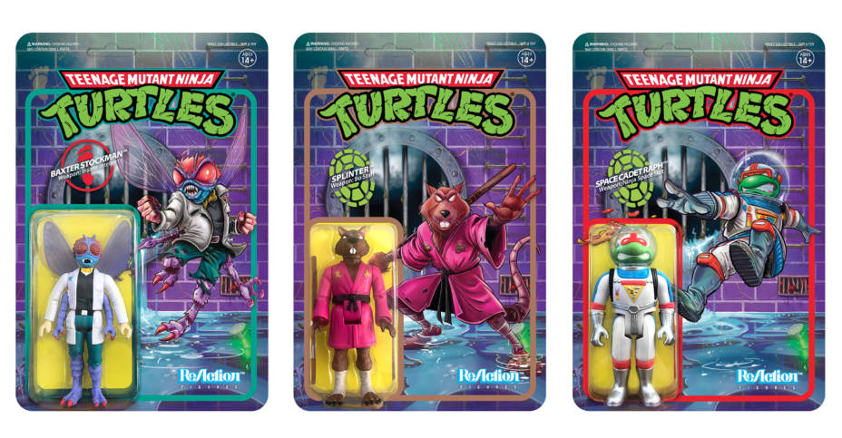 TMNT ReAction Wave 2 Set001
