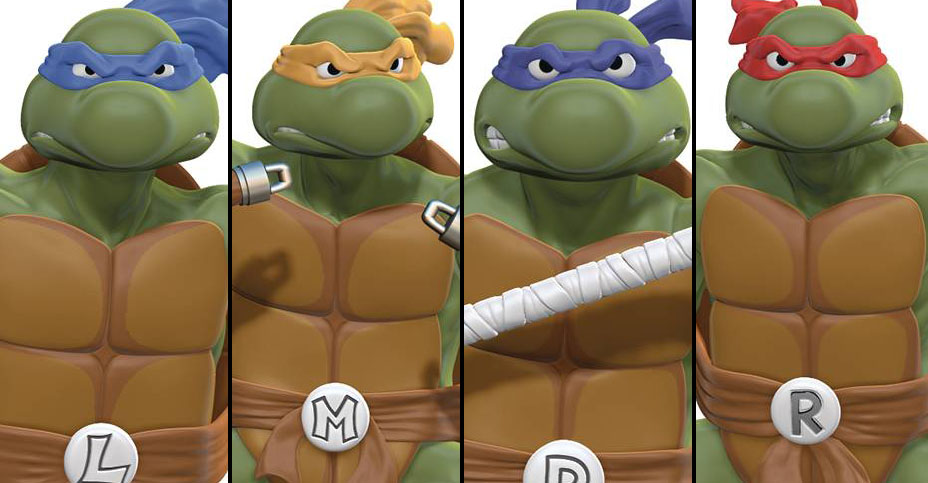 TMNT Statues by PCS