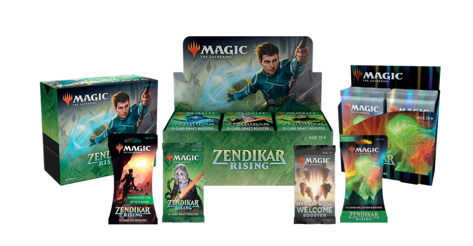 Zendikar Rising Booster Box Art Collector Pack Magic The Gathering