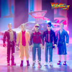 Back to the Future 2 ReAction Figures