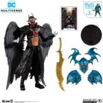 DC Multiverse Dark Nights Metal Batman Who Laughs with Sky Tyrant Wings 007