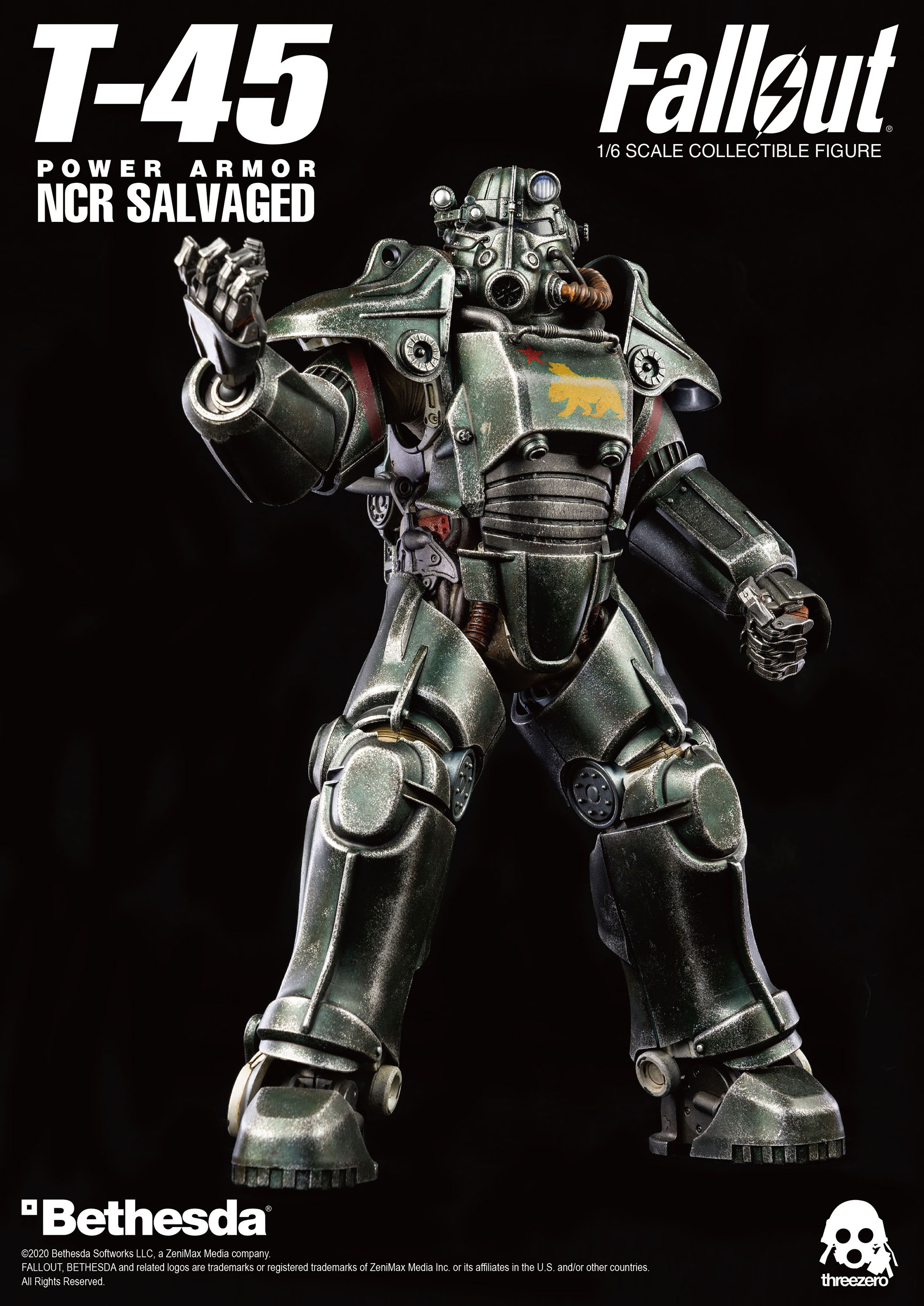 Fallout T 45 NCR Salvaged Power Armor 001
