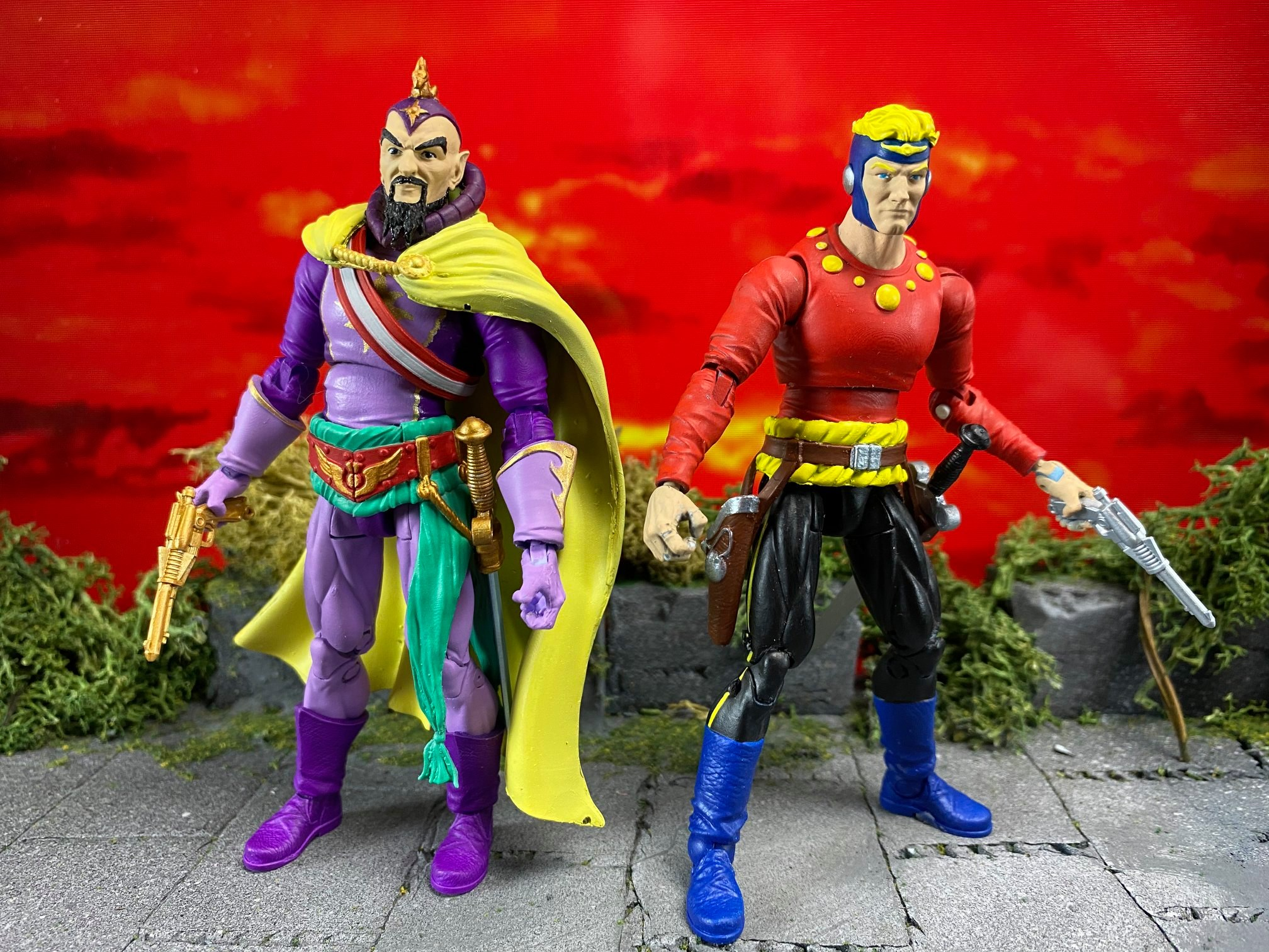 Flash Gordon Comic Figures 001