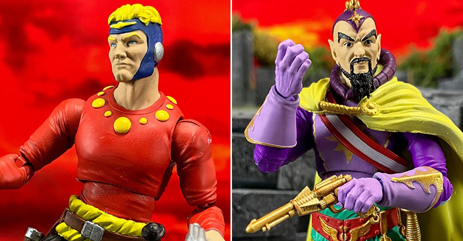 Flash Gordon Comic Figures Preview