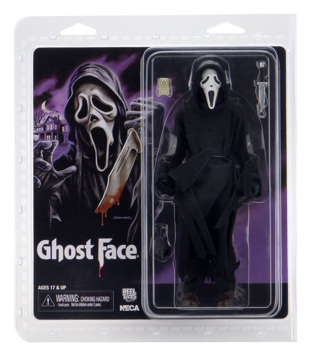Ghostface 8 Inch Figure Packaging 001