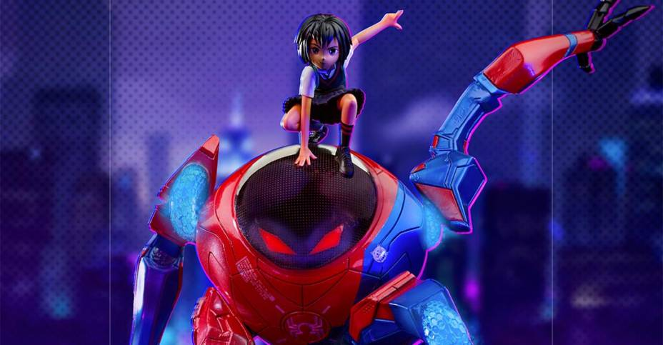 Iron Studios Peni Parker and SPdr 001