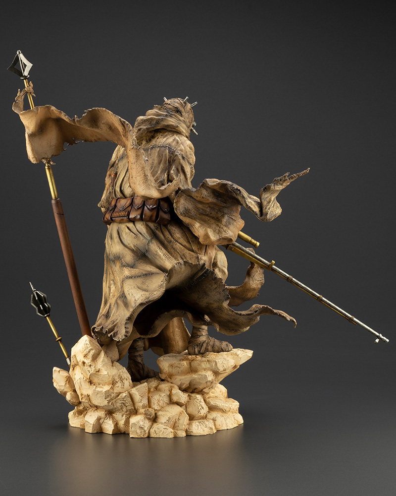 Star Wars: A New Hope – ARTFX Artist Series Tusken Raider Barbaric Desert Tribe Statue Koto-Artist-Series-Tusken-Raider-005