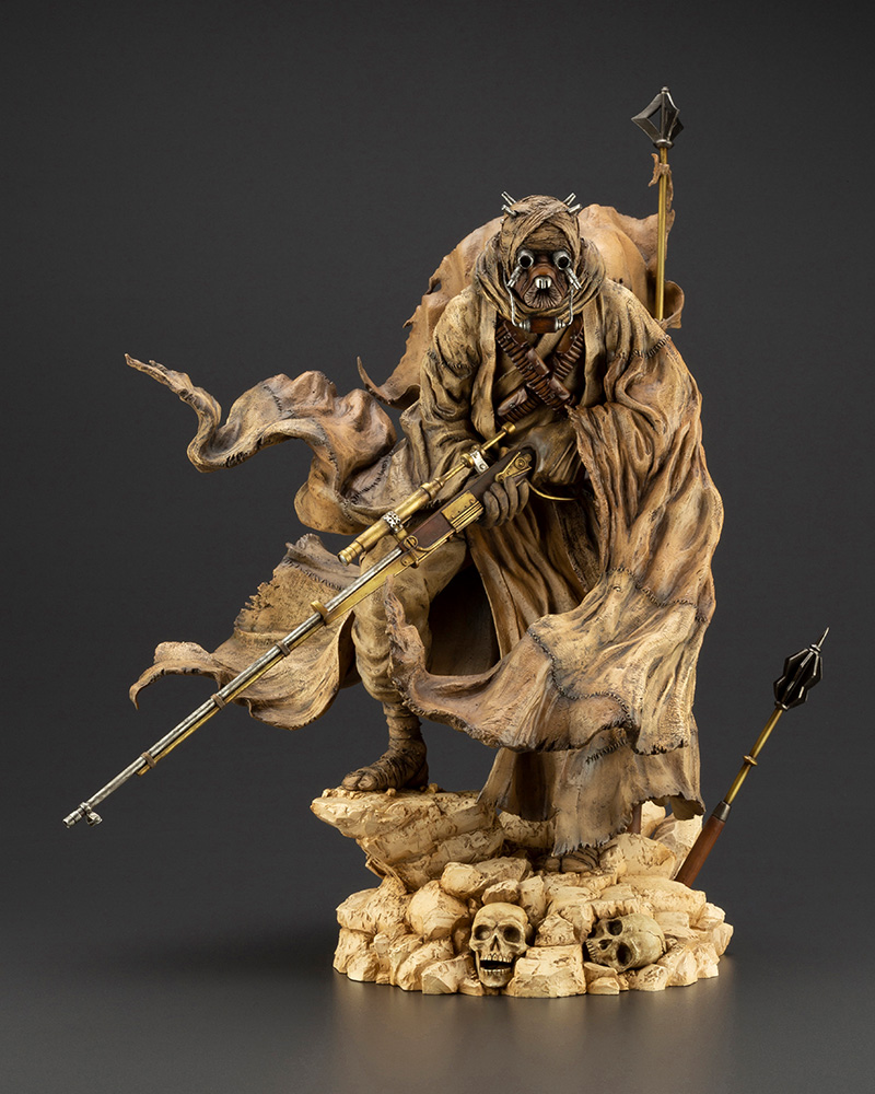 Star Wars: A New Hope – ARTFX Artist Series Tusken Raider Barbaric Desert Tribe Statue Koto-Artist-Series-Tusken-Raider-008