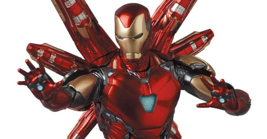 MAFEX Iron Man Mark 85 Figure 001