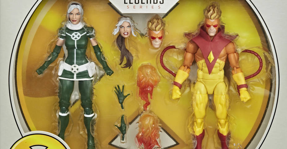 Marvel Legends 2 Pack Rogue and Pyro 001