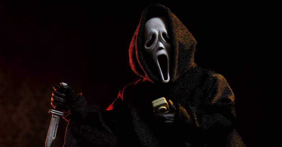 NECA Retro Ghostface Figure 015