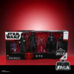 STAR WARS CELEBRATE THE SAGA 3.75 INCH SITH Figure 5 Pack in pck