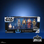 STAR WARS CELEBRATE THE SAGA 3.75 INCH THE RESISTANCE Figure 6 Pack in pck