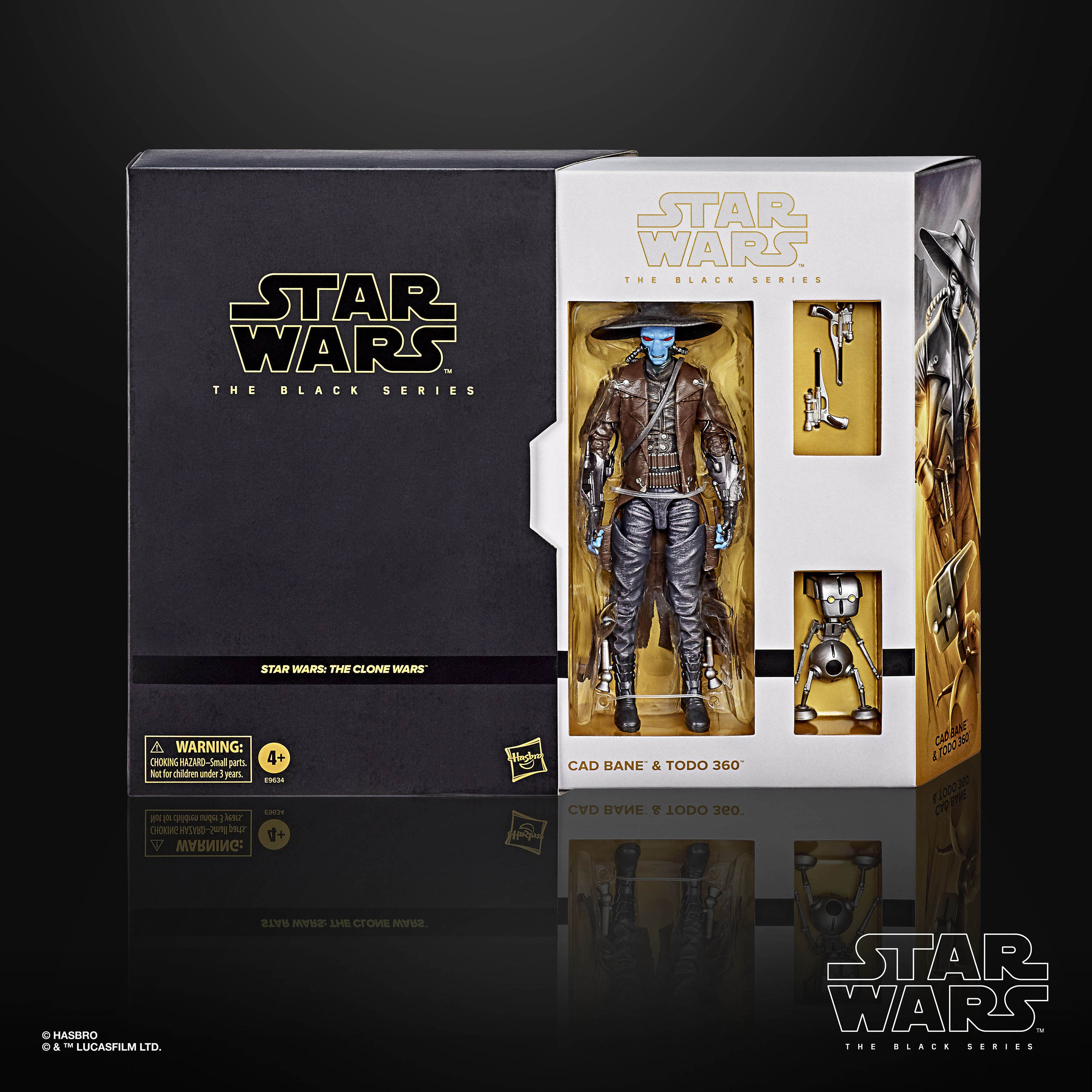 STAR WARS THE BLACK SERIES 6 INCH CAD BANE AND TODO 360 Figure 2 Pack 002