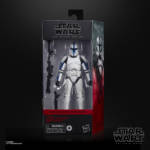 STAR WARS THE BLACK SERIES 6 INCH PHASE I CLONE TROOPER LIEUTENANT Figure in pck 1