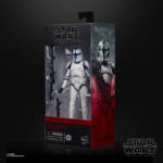 STAR WARS THE BLACK SERIES 6 INCH PHASE I CLONE TROOPER LIEUTENANT Figure in pck 2